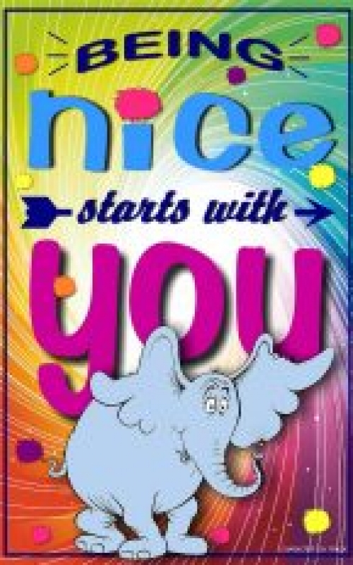 Being Nice Starts with You