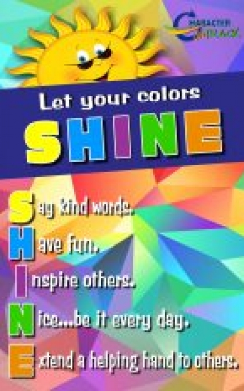 Let your colors shine