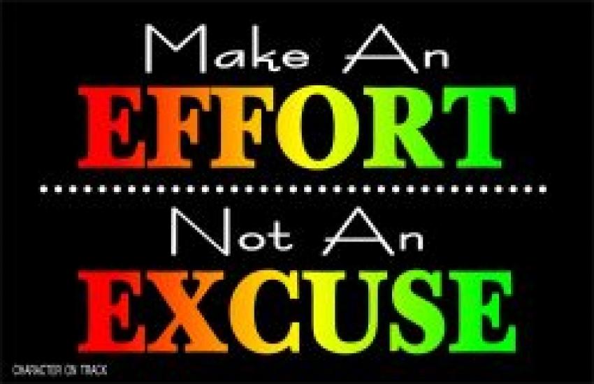 Make an Effort
