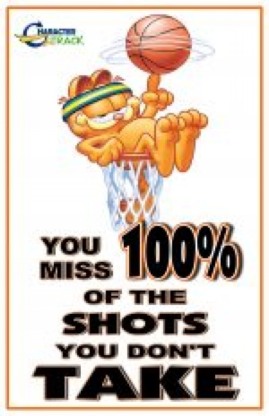 You Miss 100%